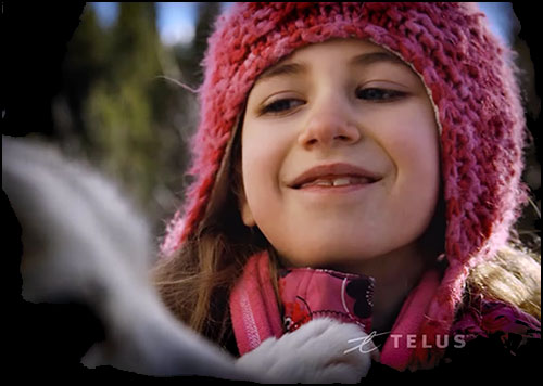 TELUS Optik Local: Dog Sledding Video for kids in Canmore