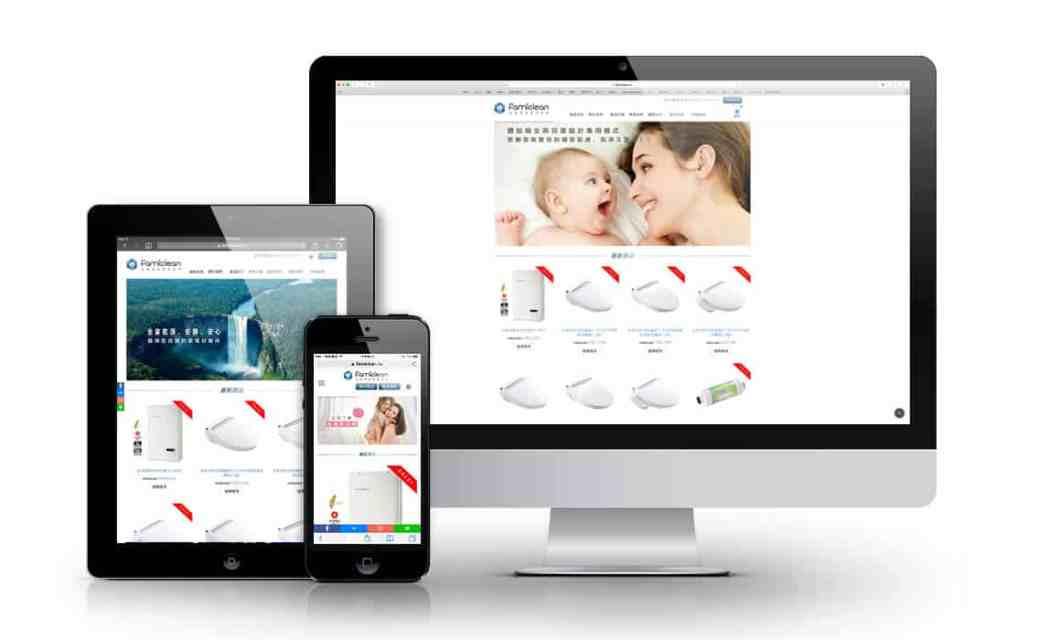 Famiclean, 全家安, 全家淨, 購物網站設計, 電商網頁設計