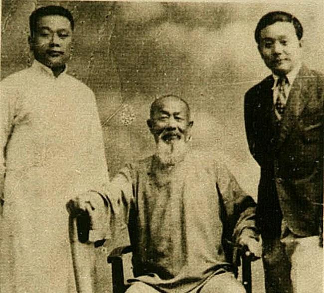 中華易宗內家武學研究會 八卦掌名家 高義盛、吳兆峰、吳孟俠