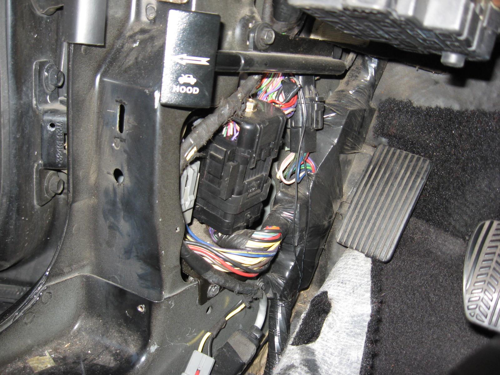 95 mustang gt alternator wiring diagram iso process audit turtle 1994 1995 export taillight installation