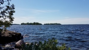 View of Rainy Lake