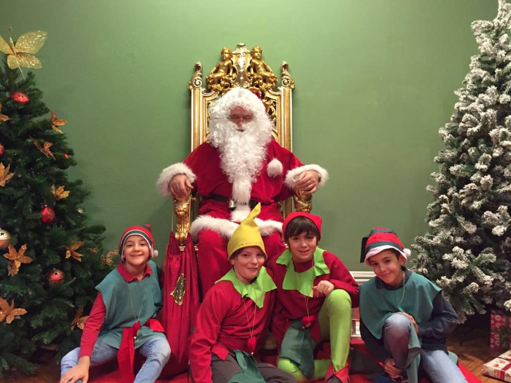 A Cant aperta la casa di Babbo Natale  Ciao Como