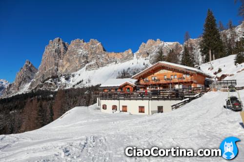 Premi il pulsante per scaricare la mappa stampabile del percorso. Ciaocortina Eating At Mountain Lodges In Cortina