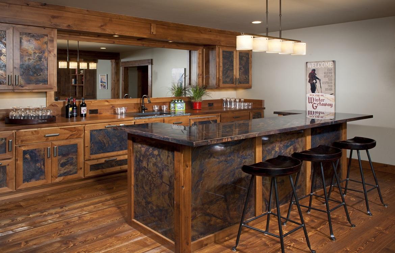 Family Room Bar Ideas