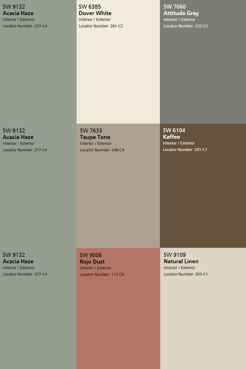 Acacia Haze Color Pick Of The Month Ciao Interiors