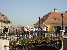 Sibiu - sulla ponte dei buggiardi