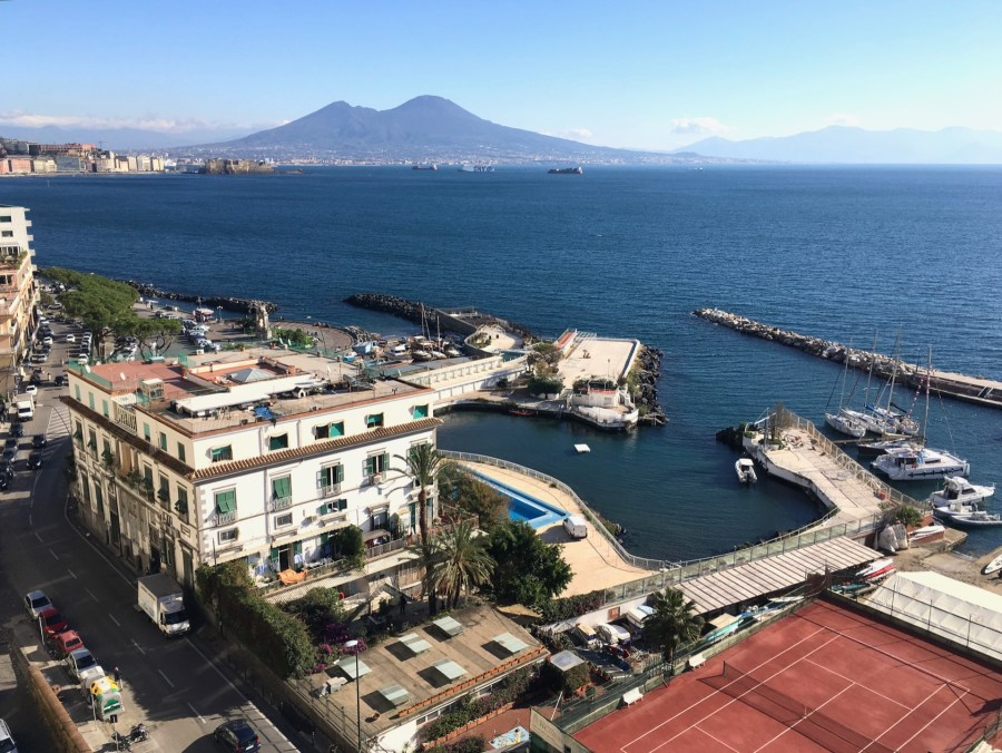 View of Naples from Villa Doria D'Angri