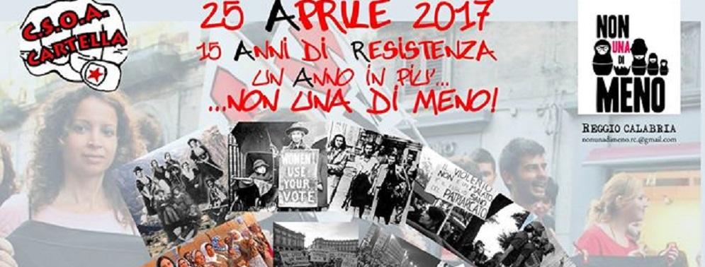 """Il 25 aprile al centro sociale """"Angelina Cartella"""""""