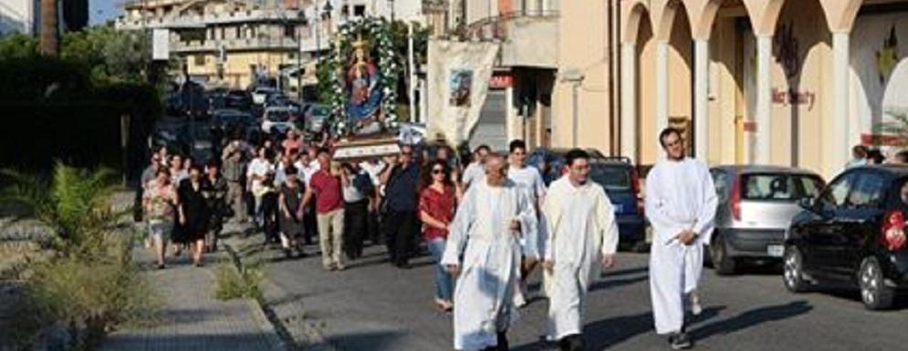 Pellegrinaggio della Madonna dell'Aiuto di Ursini a Caulonia Marina