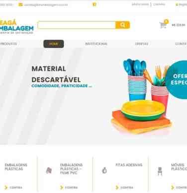 Criação da loja virtual e Otimização do site