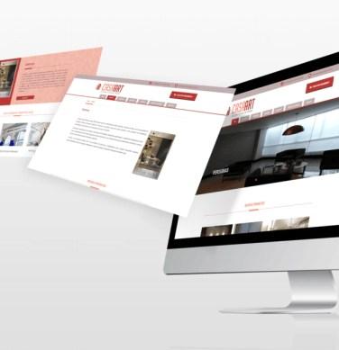 Criação de site institucional e otimização de site