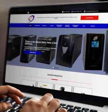 Criação de site institucional e Otimização do Site