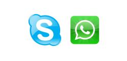 El riesgo de usar skype y otras herramientas social media para la atención on-line a la salud mental.
