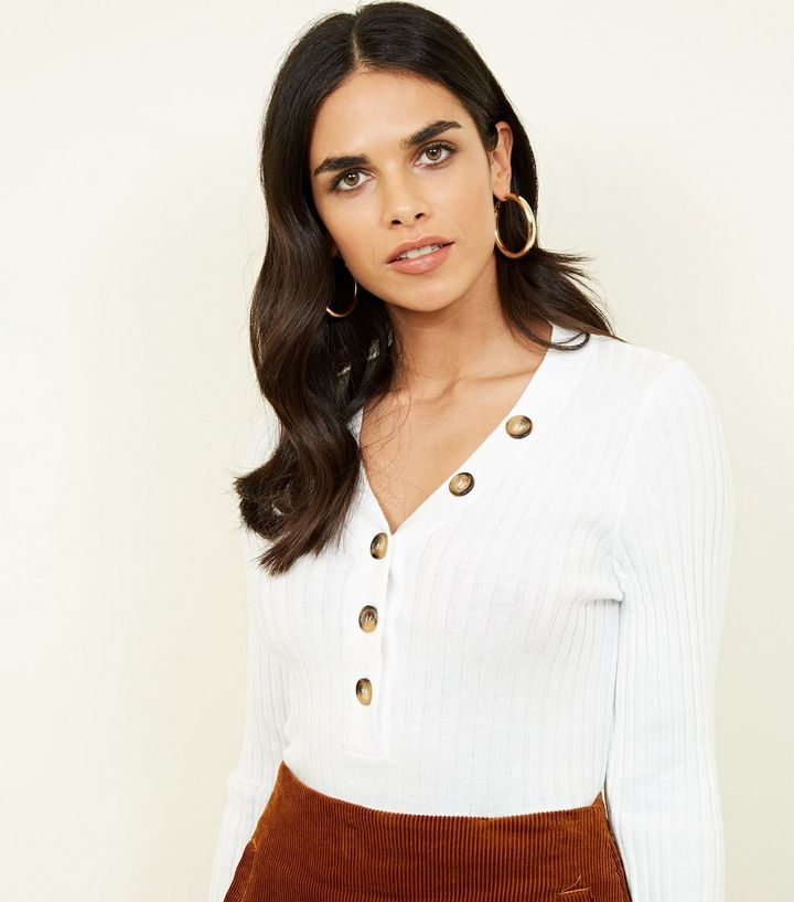 cream-ribbed-button-front-jumper-