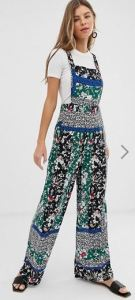 miss selfridge pinny jumpsuit