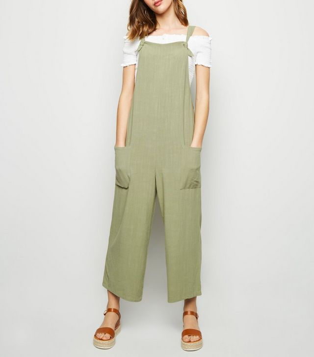 new look linen jumpsuit