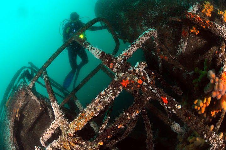 Interdiction de plongée sur l'épave du WAR BALLOON