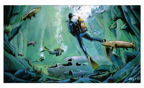 Idée reçue : La plongée ne se pratique qu'en mer