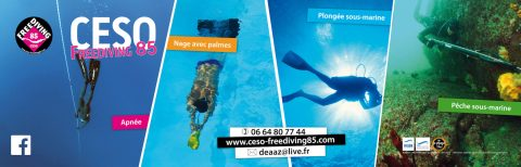 Une nouvelle bâche pour le CESO Freediving 85