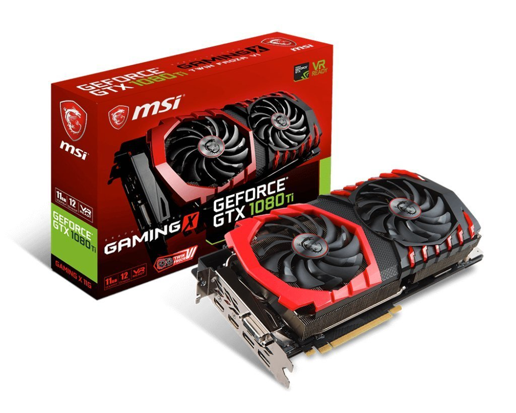 GTX 1080 Ti GAMING X 11G, VR Ready