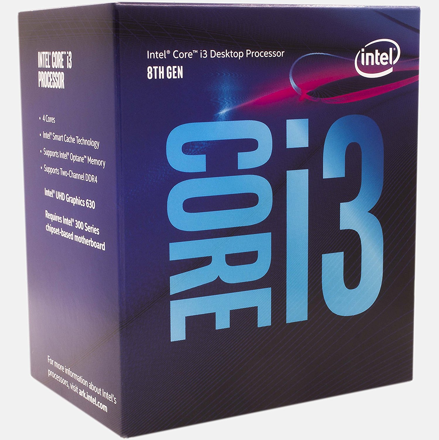 Intel Core i3-8100 3.6GHz 6MB
