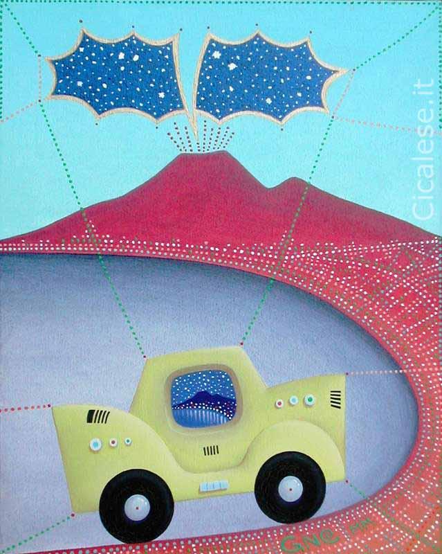 TAXI (2000) olio su tela (30x24)