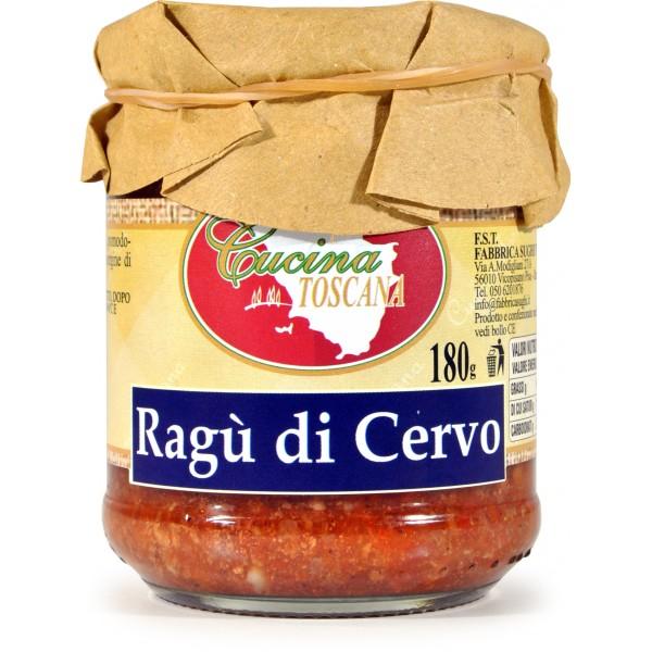 Fabbrica Sughi Cucina Toscana Ragu Di Cervo gr 180