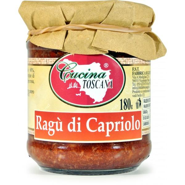 Fabbrica Sughi Cucina Toscana Ragu Di Capriolo gr180