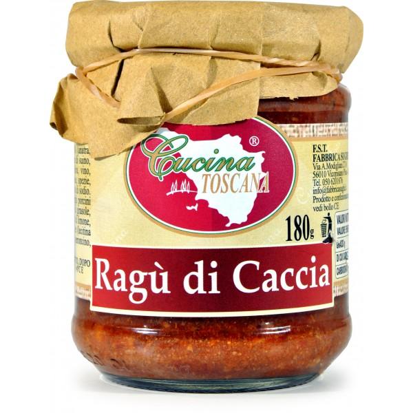 Cucina Toscana Ragu Di Caccia Sugo Pronto gr 180  Visita