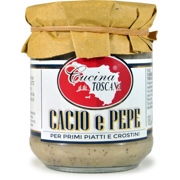 Cucina Toscana Sugo Cacio E Pepe Pronto In Vasetto gr 180