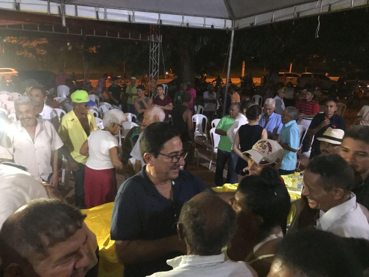 Deputado Hemetério Weba participa de encontro político em Bom Jardim