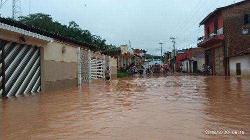 Marajá do Sena - MA- enchentes, cidade em baixo d´´agua (5)
