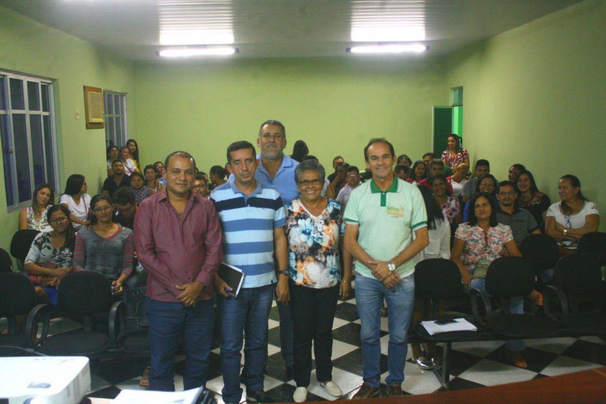 Reunião define estratégias para implantação do programa Busca Ativa Escolar em Nova Olinda do MA