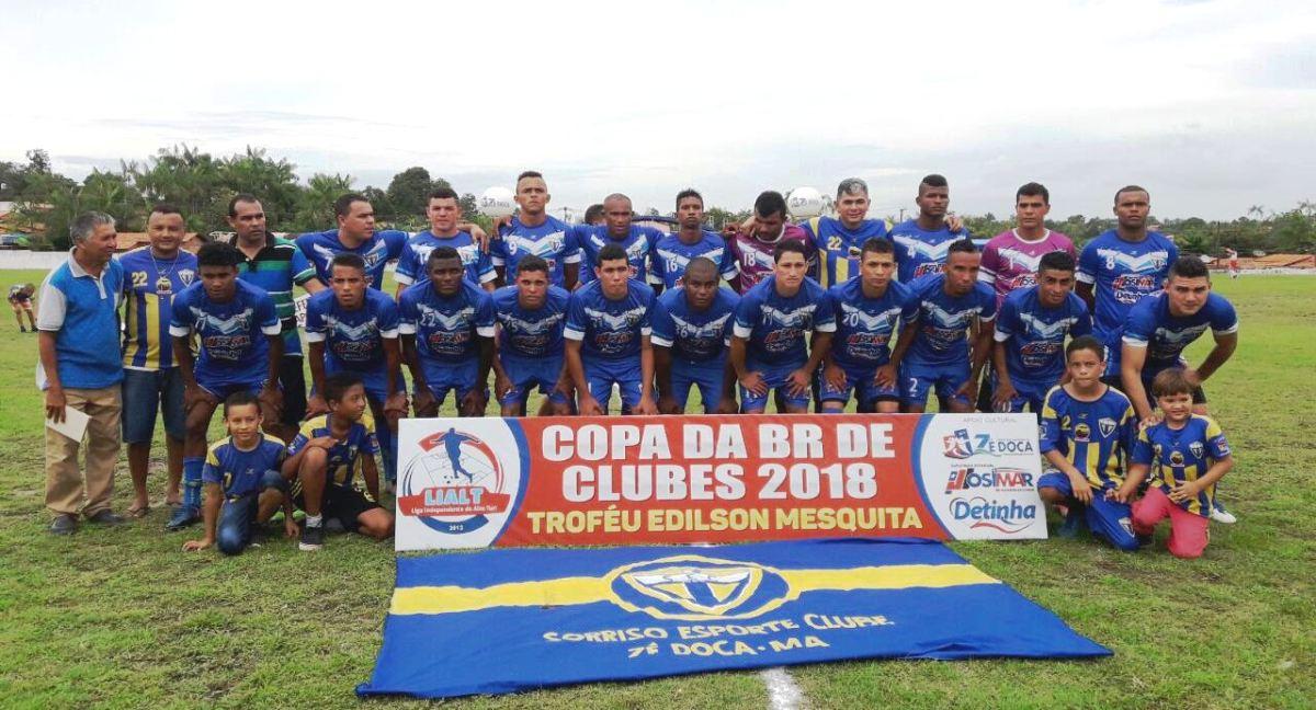 Sorriso conquista título da Copa da BR de clubes 2018