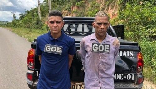 """""""Pistoleiros"""" são presos durante fuga após executar vítima"""