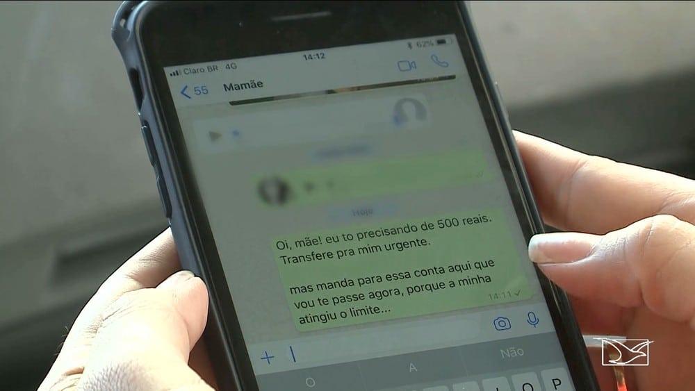 Clonagem de WhatsApp cresce no Maranhão