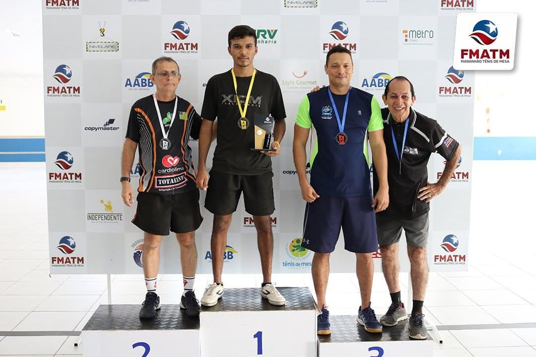 Mesa-tenista novaolindense Francisco Guilherme conquista 3ª etapa do Circuito Maranhense