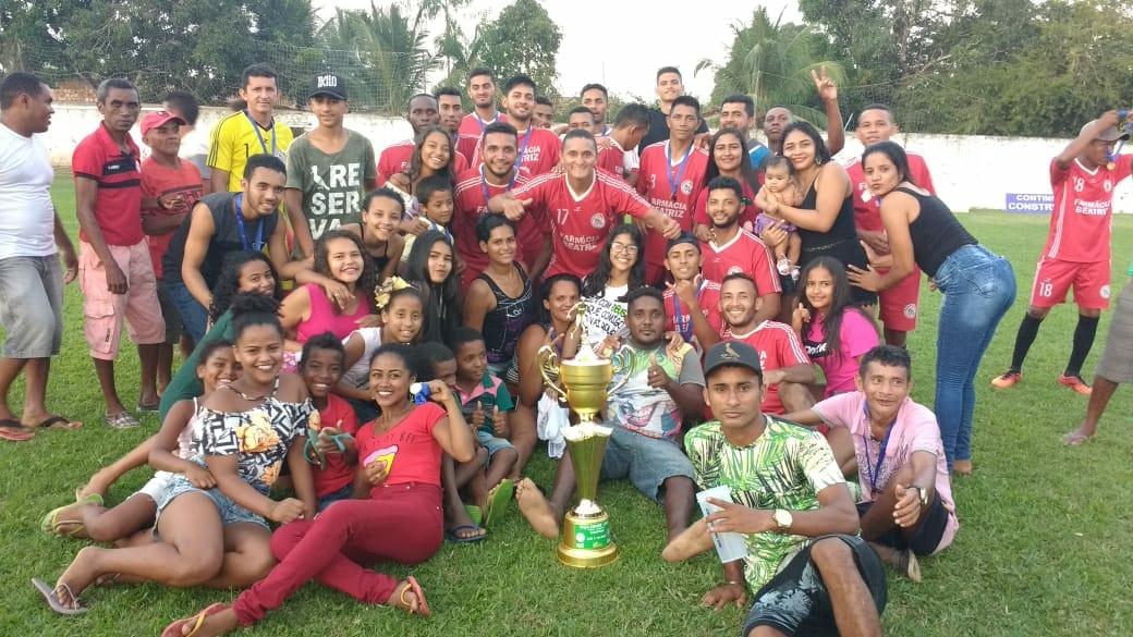 Ajax conquista bicampeonato da Taça Cidade de Nova Olinda do Maranhão