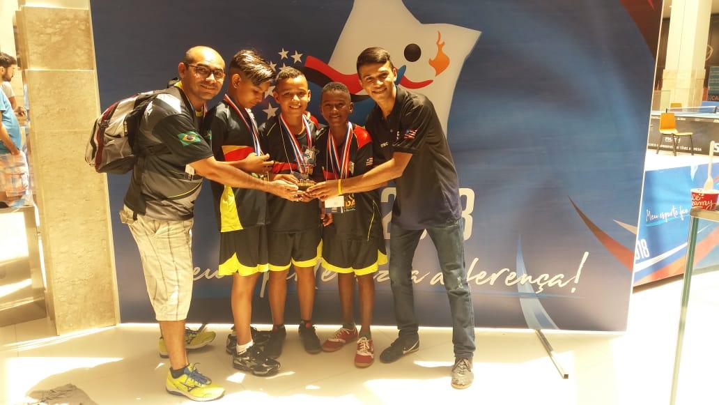 Tênis de Mesa de Nova Olinda conquista mais títulos nos JEMS 2018