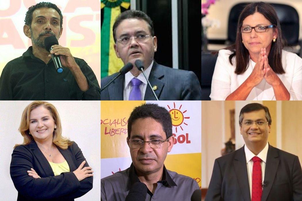Confira a agenda dos candidatos ao governo do Maranhão para esta sexta
