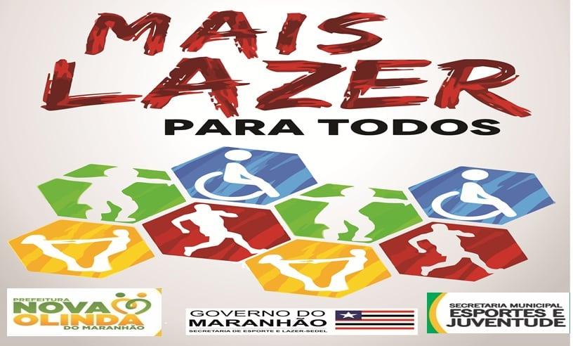 SEMEJ e SEDEL-MA promovem edição do Projeto MAIS LAZER em Nova Olinda do Maranhão