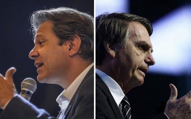 Datafolha: Jair Bolsonaro tem 59% dos votos válidos; Fernando Haddad, 41%