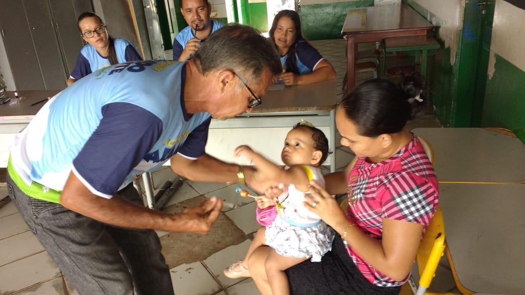 Iniciada a campanha de vacinação contra o Sarampo em Nova Olinda do Maranhão