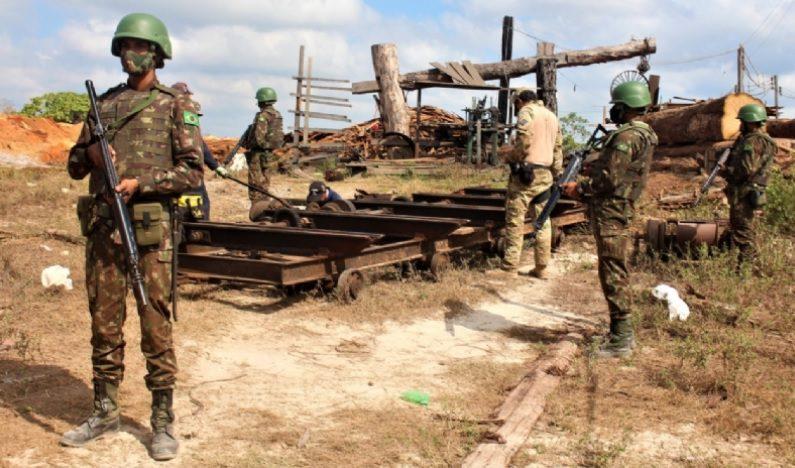 Em Zé Doca: Mais de 700 m³ de madeira ilegal é apreendida no MA