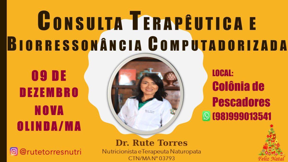 Atenção Nova Olinda do Maranhão: Consulta Terapêutica com a Doutora Rute Torres