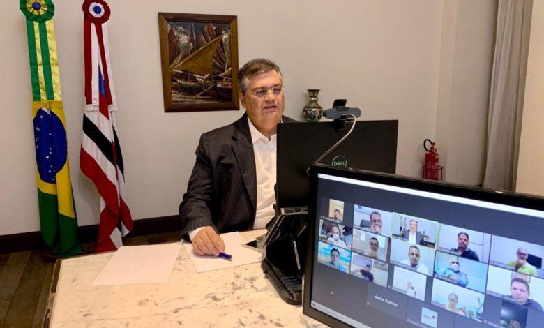 Flávio Dino e FAMEM discutem estratégias para ampliar vacinação no Maranhão