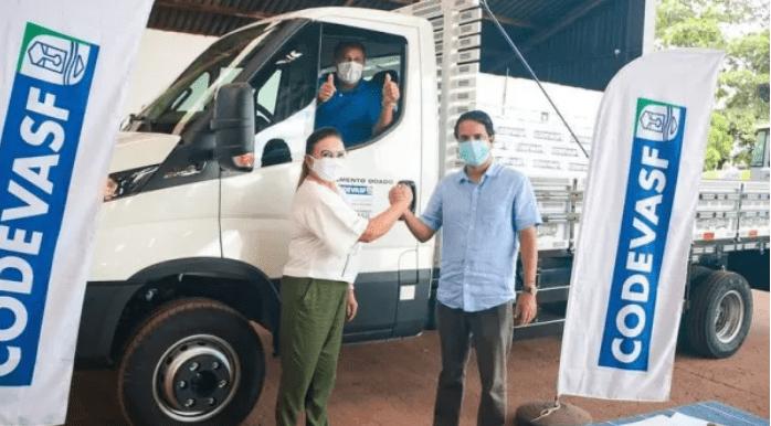 Município de Nova Olinda do Maranhão recebe caminhão da Codevasf para auxiliar pescadores