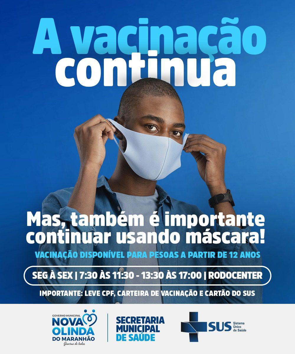 Nova Olinda do MA define ponto único para vacinação contra a CODIV 19