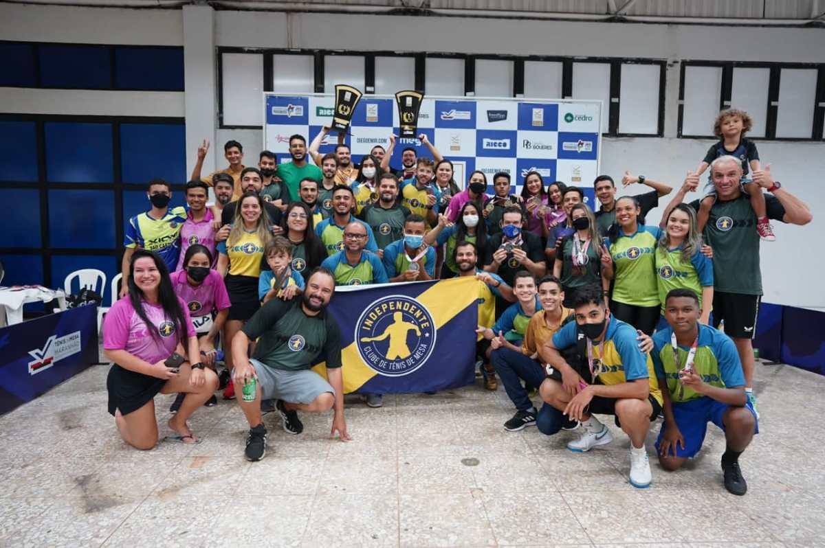 Atleta de Nova Olinda do MA conquistam títulos na etapa do Campeonato Brasileiro (TMB) de Tênis de Mesa em São Luís..