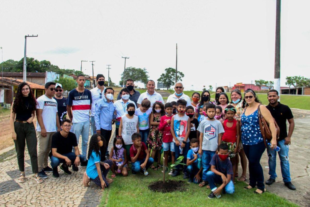 Dia da Árvore é comemorado com ações em prol do Meio Ambiente em Nova Olinda do MA.